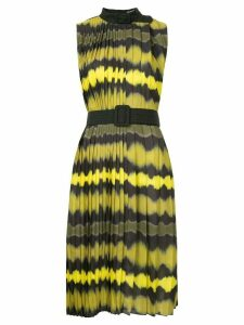 Wynn Hamlyn Ripple pleat dress - Yellow