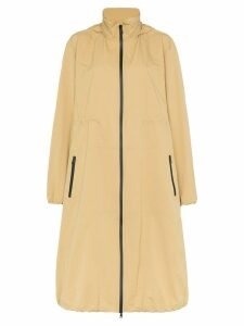 Bottega Veneta long parka jacket - Neutrals