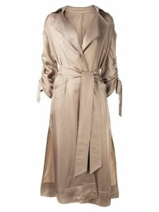 Cinq A Sept Aziza duster coat - NEUTRALS