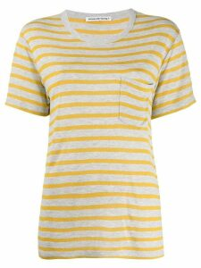 Alexander Wang stripe top - Yellow