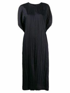 Jil Sander oversized shift dress - Black