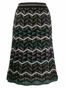 M Missoni knitted midi skirt - Black