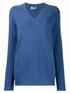 Prada V-neck jumper - Blue