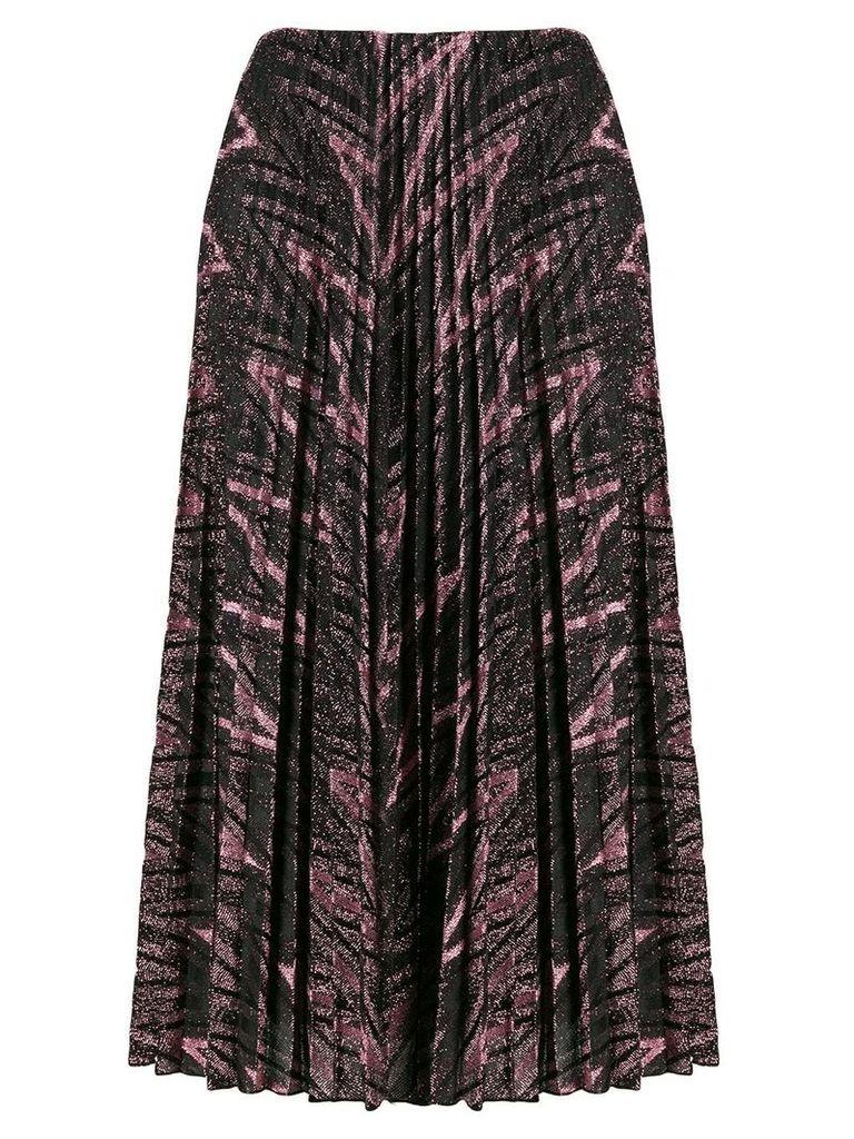 M Missoni glitter pleated skirt - Pink
