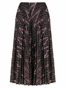 M Missoni glitter pleated skirt - Pink