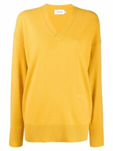 Calvin Klein oversized jumper - Yellow