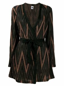 M Missoni zigzag cardigan - Brown