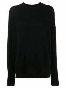 Jil Sander Basic knit sweater - Black