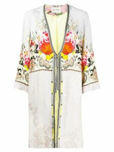 Etro printed robe coat - Neutrals
