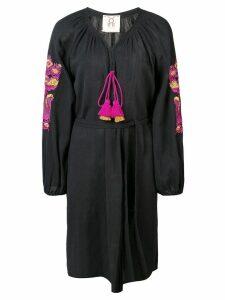 Figue batik short dress - Black