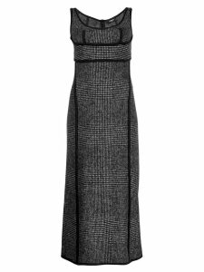 Dsquared2 scoop neck midi dress - Black