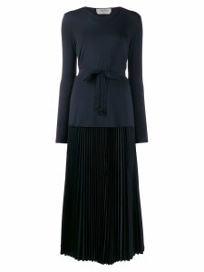 'S Max Mara belted skirt suit - Blue