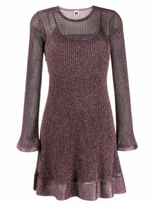 M Missoni short knitted dress - Pink