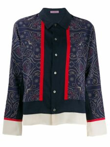 Sueundercover patterned blouse - Blue