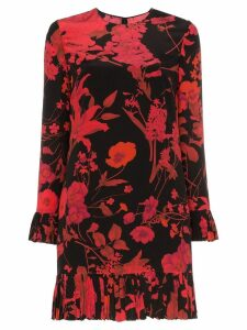 Valentino floral print dress - Black