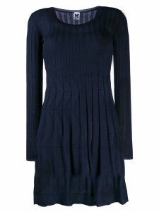 M Missoni U-neck dress - Blue