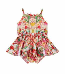 Kimono Kisses Attached Bloomers Dress