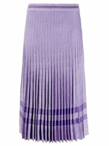 Baum Und Pferdgarten cyrilla pleated skirt - PURPLE