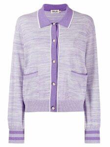 Baum Und Pferdgarten carole knitted cardigan - Purple