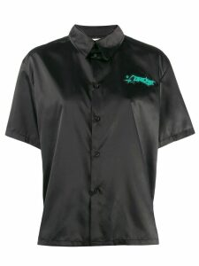 Ottolinger logo short-sleeve shirt - Black