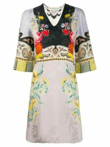 Etro floral print dress - Pink