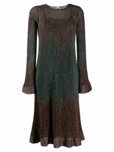 M Missoni metallic knitted dress - PINK