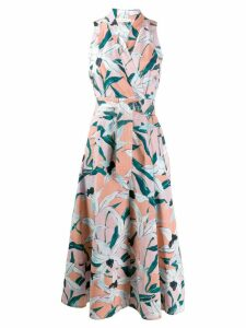 Tory Burch floral print midi dress - Pink