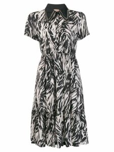 Nº21 animal print mini dress - Black