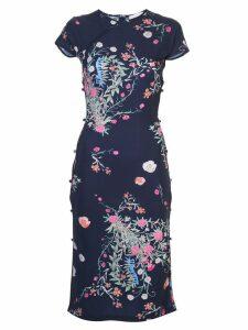 Marcia floral dress - Blue