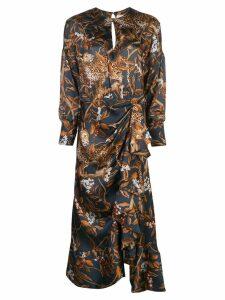 Johanna Ortiz Deep Cerulean dress - Blue