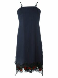 Alexander Wang flared apron dress - Blue