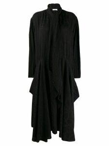 Chloé rose print bow dress - Black