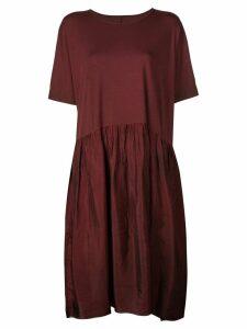 Uma Wang loose fit midi dress - Red