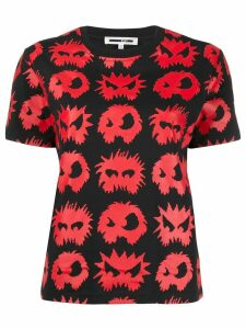 McQ Alexander McQueen monster pattern T-shirt - Black