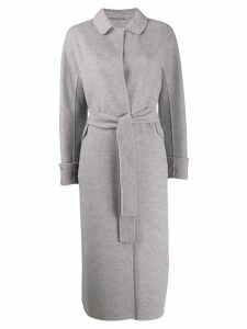 'S Max Mara Doraci wrap coat - Grey