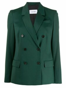 Calvin Klein classic double-breasted blazer - Green
