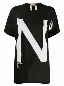 Nº21 Logo T-shirt - Black