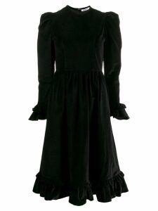 Batsheva round neck dress - Black