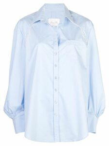 Johanna Ortiz piped shirt - Blue
