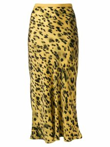 Anine Bing Bar Leo slip skirt - Yellow