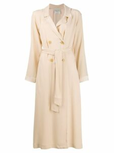 Forte Forte Vaniglia double breasted coat - Neutrals