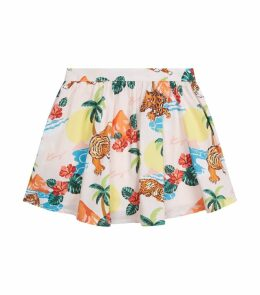 Fauve Hawaii Print Skirt