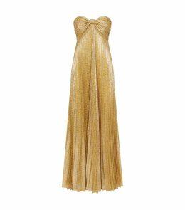 Joya Pleated Maxi Dress