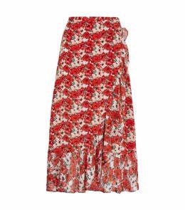 Gracie Floral Midi Skirt