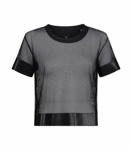 Crop Mesh T-Shirt