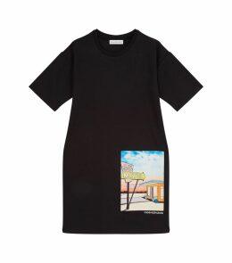 Motel Print Jersey Dress