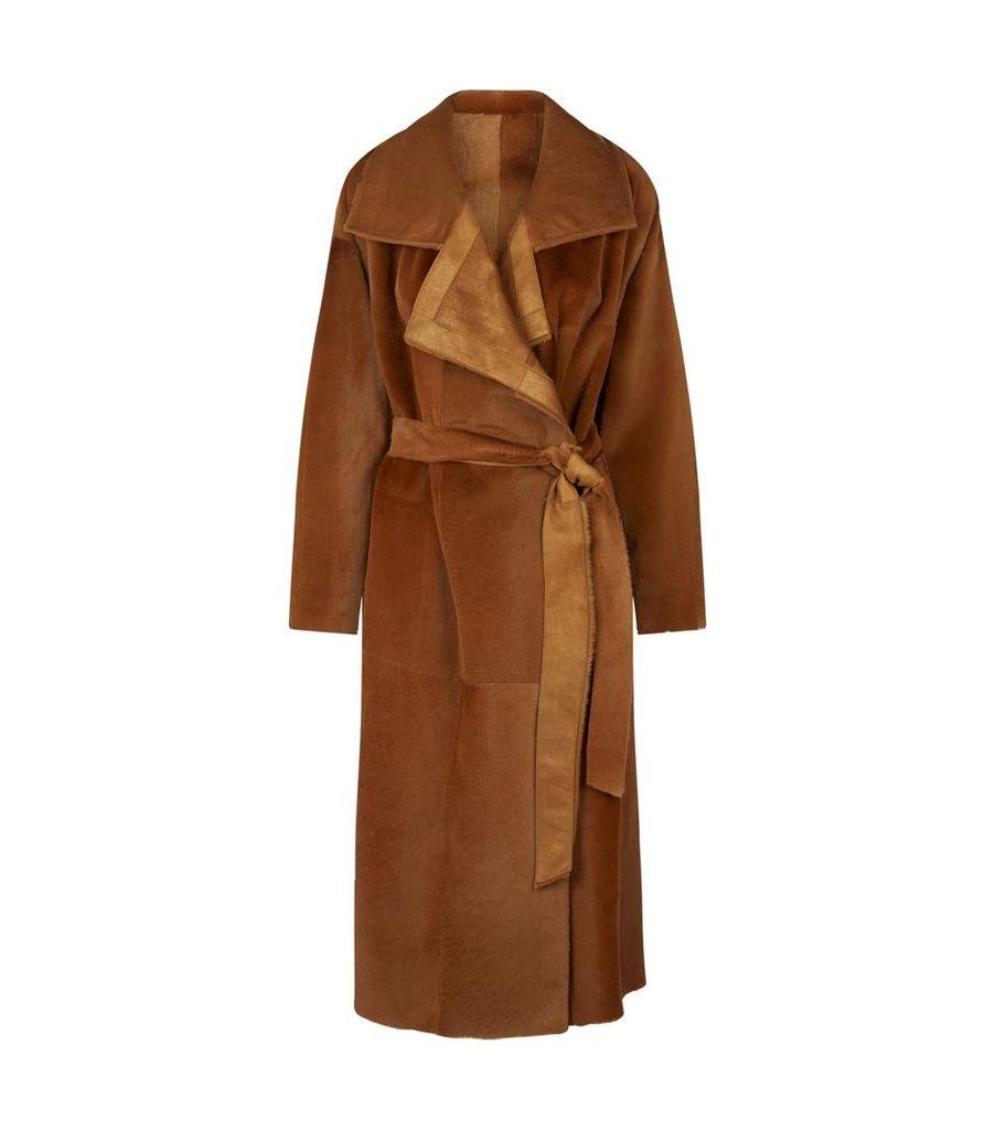 Tropical Kangaroo Fur Coat
