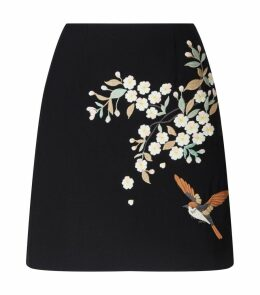 Embroidered Maiyaa Skirt