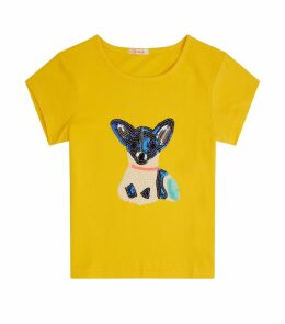 Sequin Dog T-Shirt