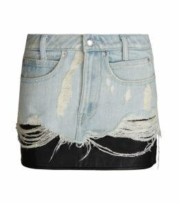 Hybrid Denim Skirt